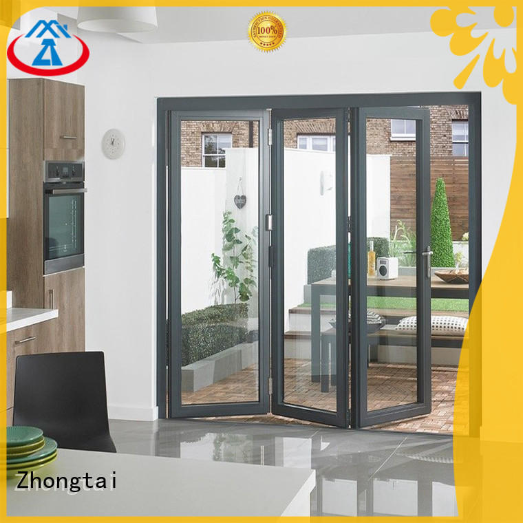 Custom Aluminium Folding Door design company for high-grade villas