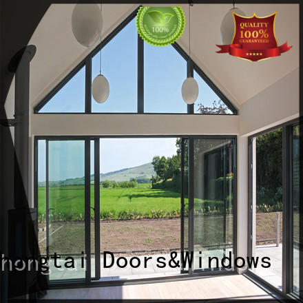 Zhongtai excellent aluminium sliding door for business for company