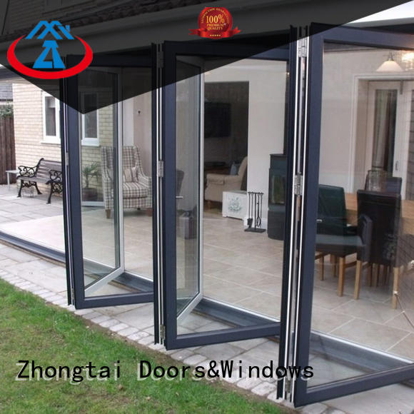 Zhongtai simpleelegant aluminium door frame for business for hotel
