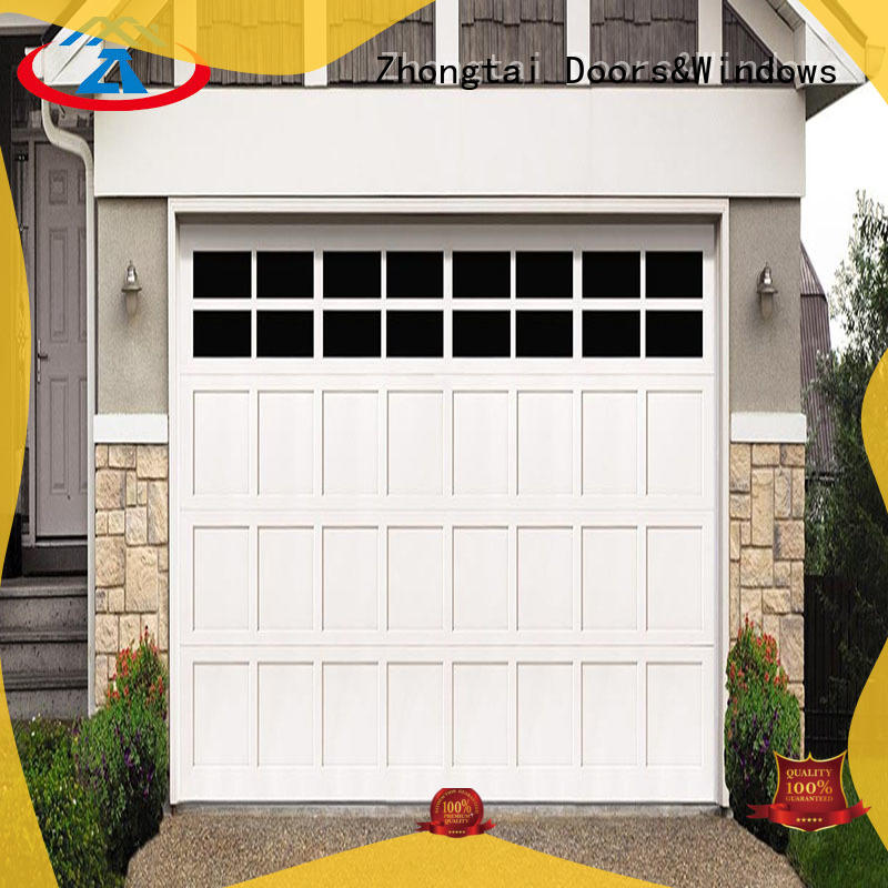 Zhongtai thermal roll up garage doors company for house