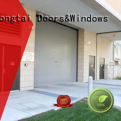 Zhongtai Wholesale commercial steel doors manufacturers for warehouse