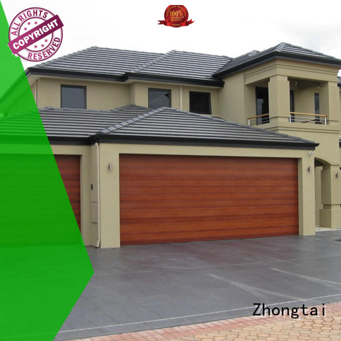 Zhongtai quality electric garage doors for sale for high-grade villas