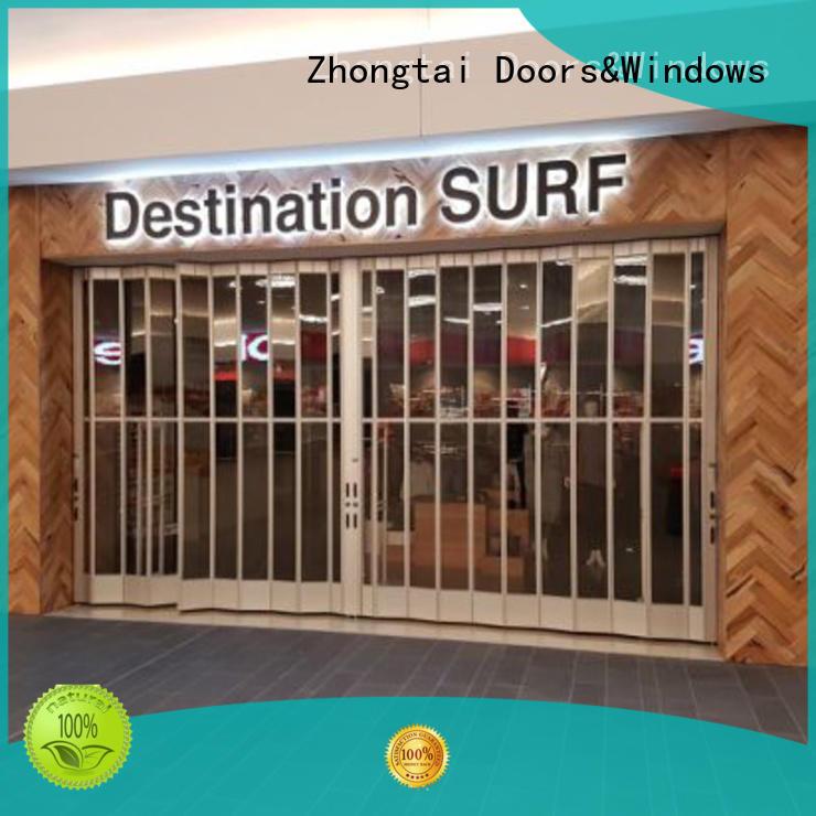 Zhongtai Custom commercial shutters company for shopping mall