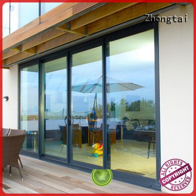 Zhongtai New aluminium sliding doors for business for company