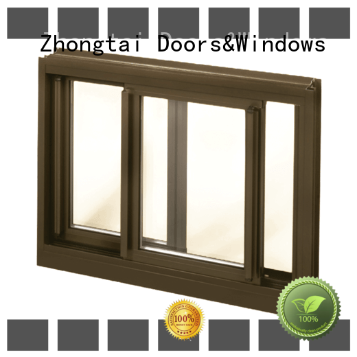 Zhongtai Wholesale aluminium window manufacturers for sale for house