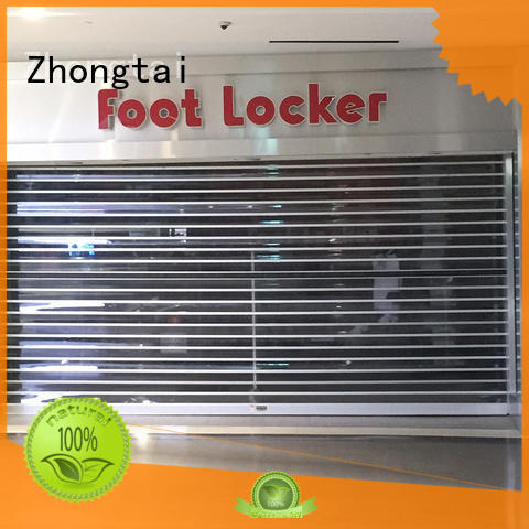 Custom shop shutter prices performance company for window display