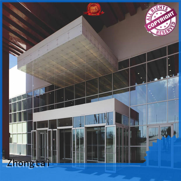 clear glass curtain wall clear series for house