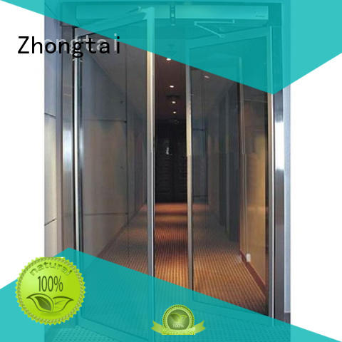 Zhongtai simple aluminium bifold doors prices factory for hospital