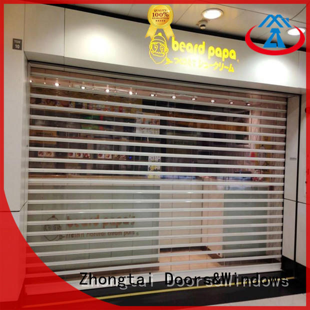 High-quality shop roller doors perspective factory for supermarket