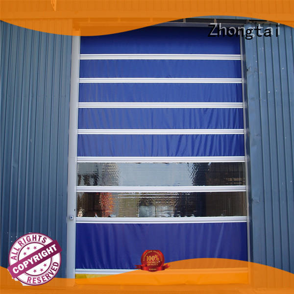 Zhongtai rapid speed door suppliers for warehouse
