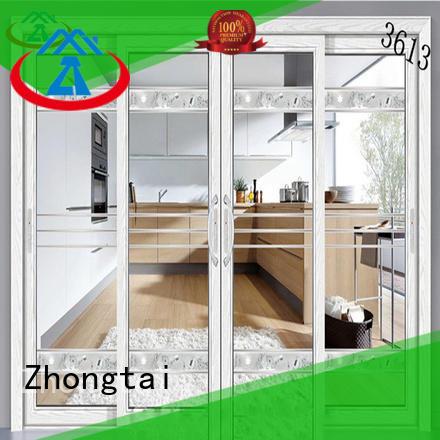 Zhongtai online aluminium sliding doors factory for office