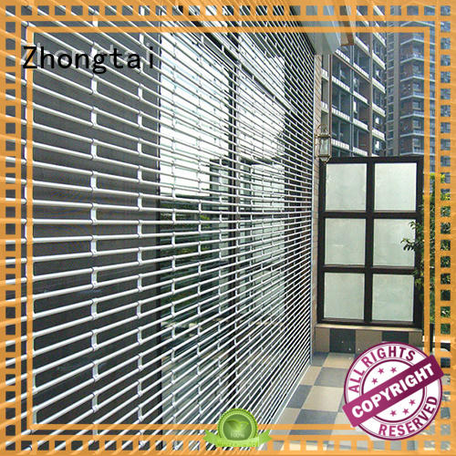 Zhongtai vertical security shutters for sale for shop