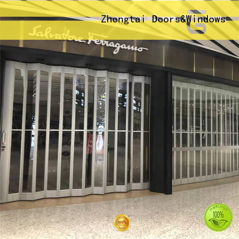 Zhongtai professional commercial shutters company for shopping mall