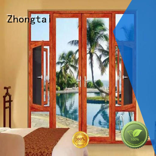 Zhongtai online aluminium window frames for sale for house