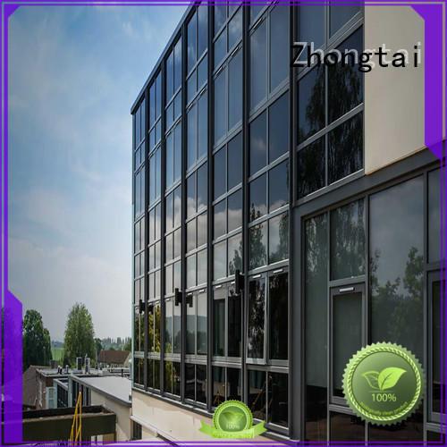 Zhongtai Custom glass curtain wall company for buliding