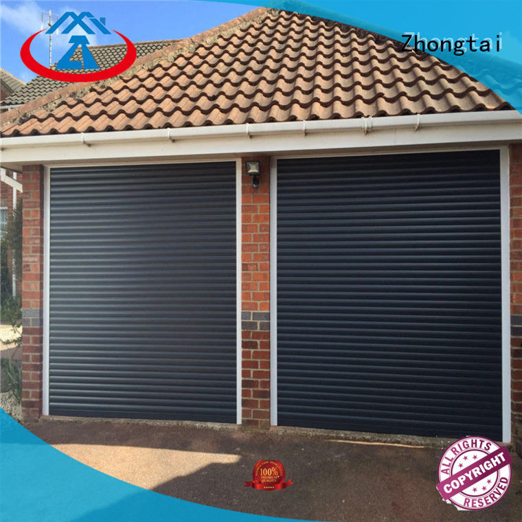 Zhongtai roll aluminium shutters company for warehouse