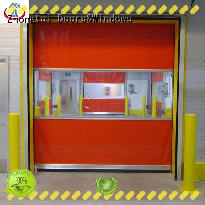 New high speed shutter door roll manufacturers for logistics center