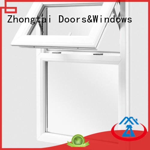 Zhongtai durable aluminum windows price supply for building